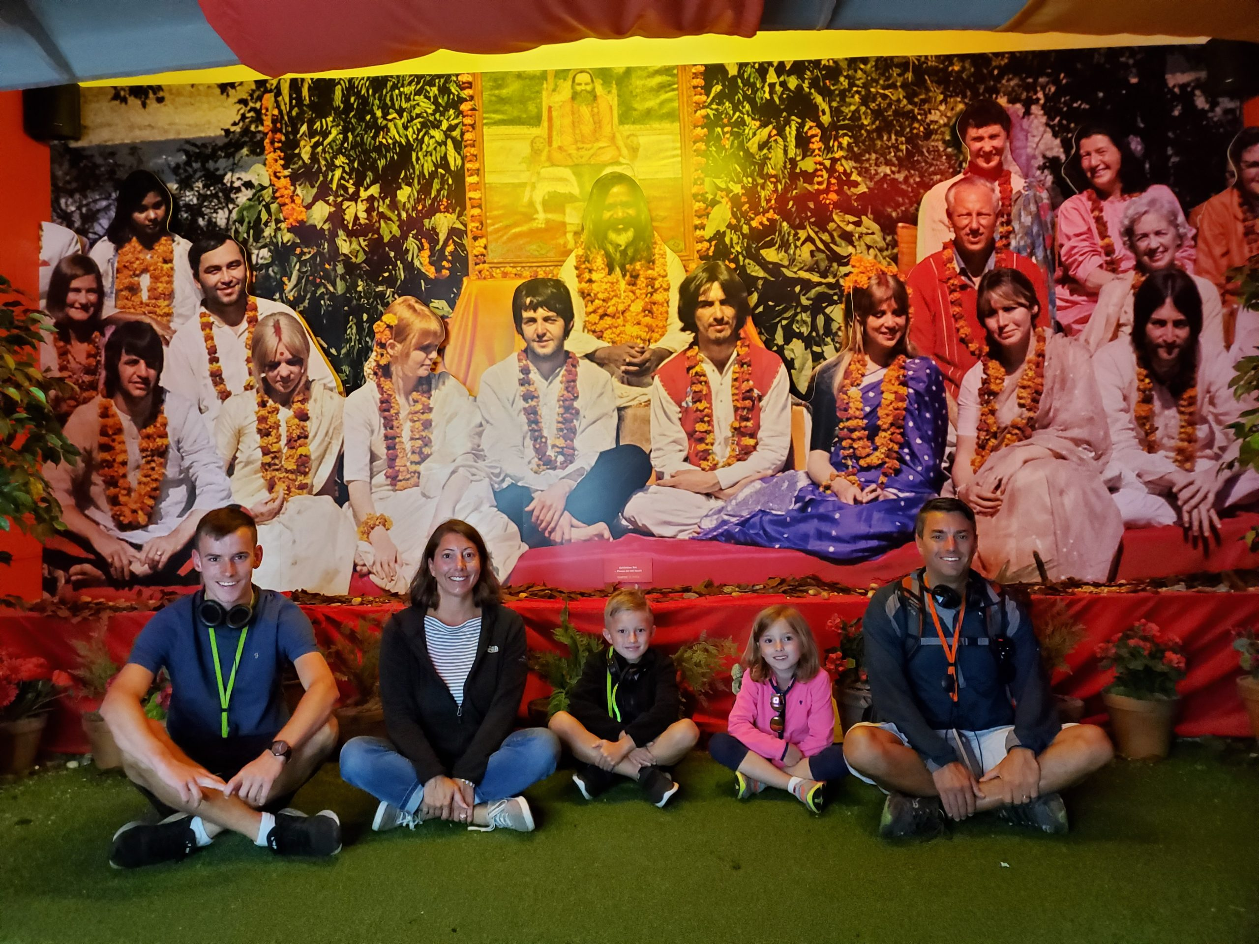 Cernys' Journeys: The Beatles Story: The Beatles in India- Liverpool, England, UK #2