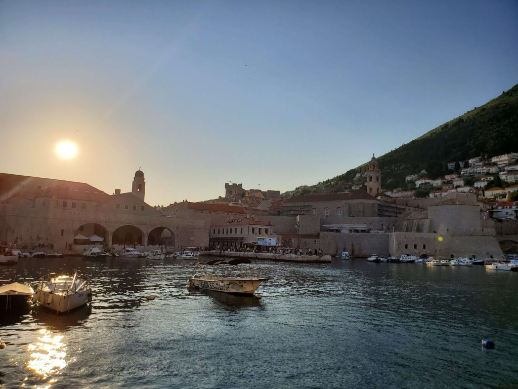 Cernys' Journeys: Waterfront view - Dubrovnik, Croatia Old Town