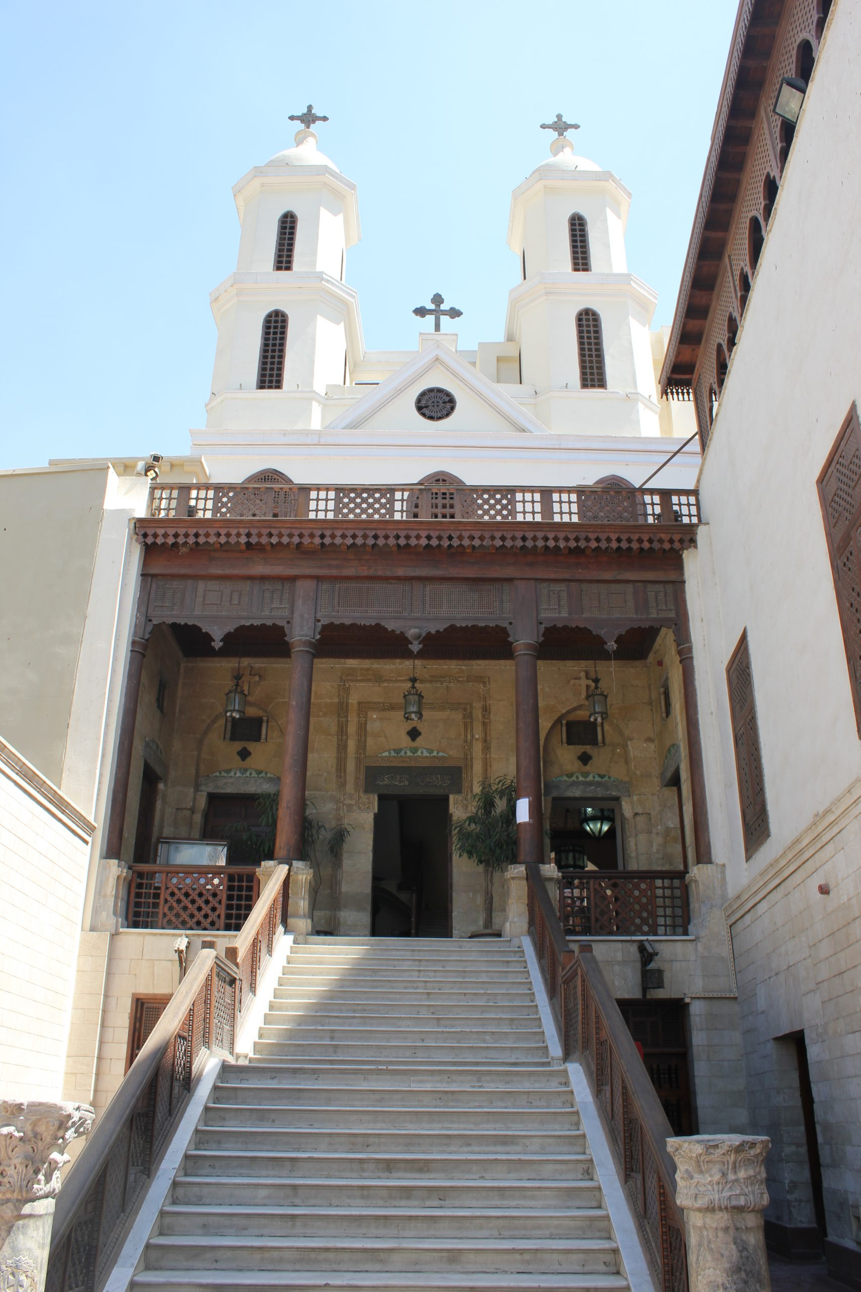 Cernys' Journeys: Coptic Cairo, Hanging Church - Cairo, Egypt