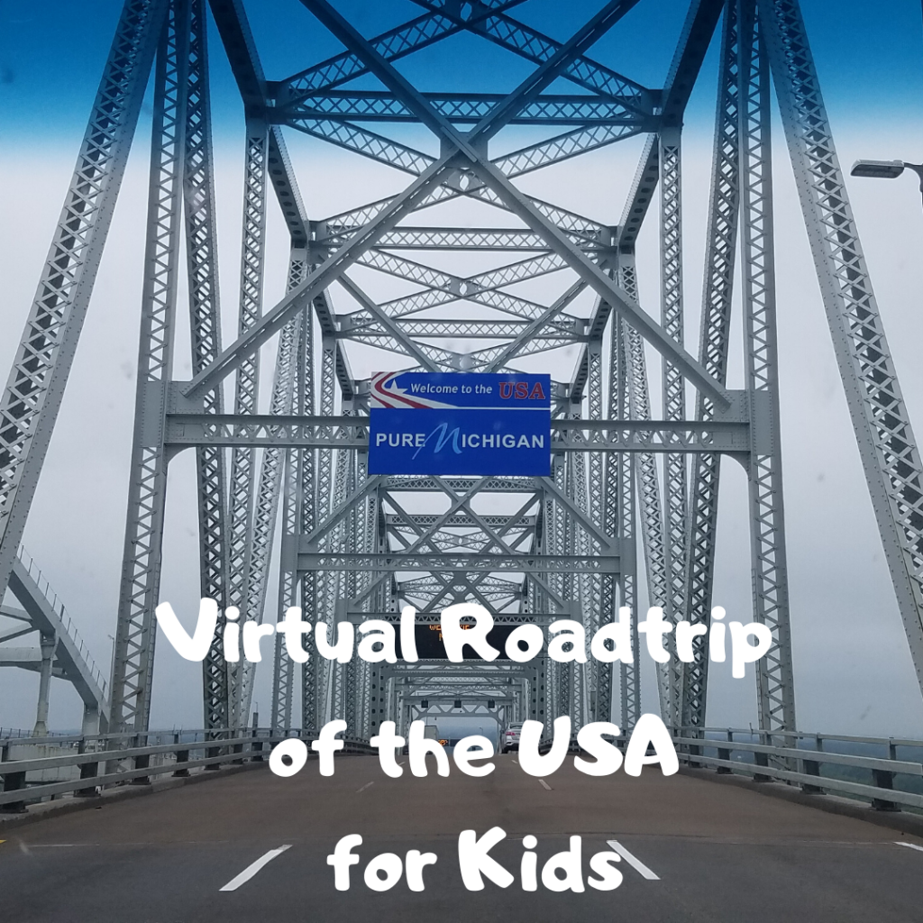 Virtual Roadtrip of the USA for Kids