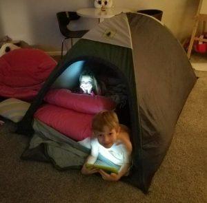 Cernys' Journeys Camping Kids
