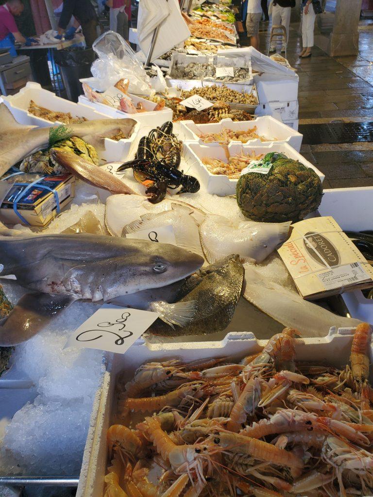 Fish Market Venice Italy