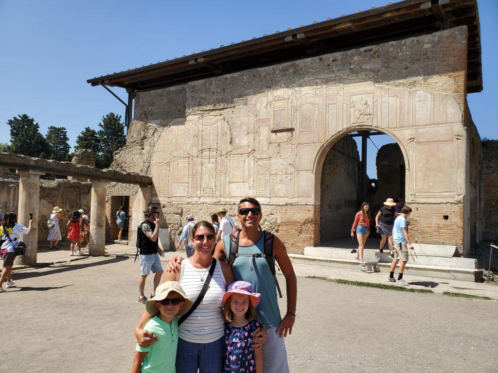 Cernys' Journeys at Pompeii Italy