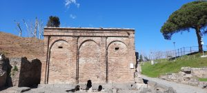 Porta Vesuvio Pompeii Italy