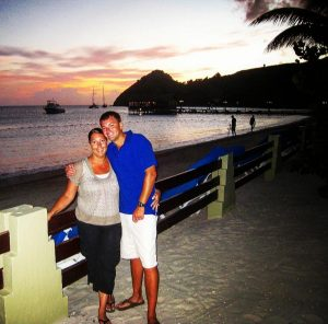 Sara & Collin at Grande Saint Lucian
