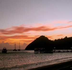 Sandals Grand St Lucian Sunset