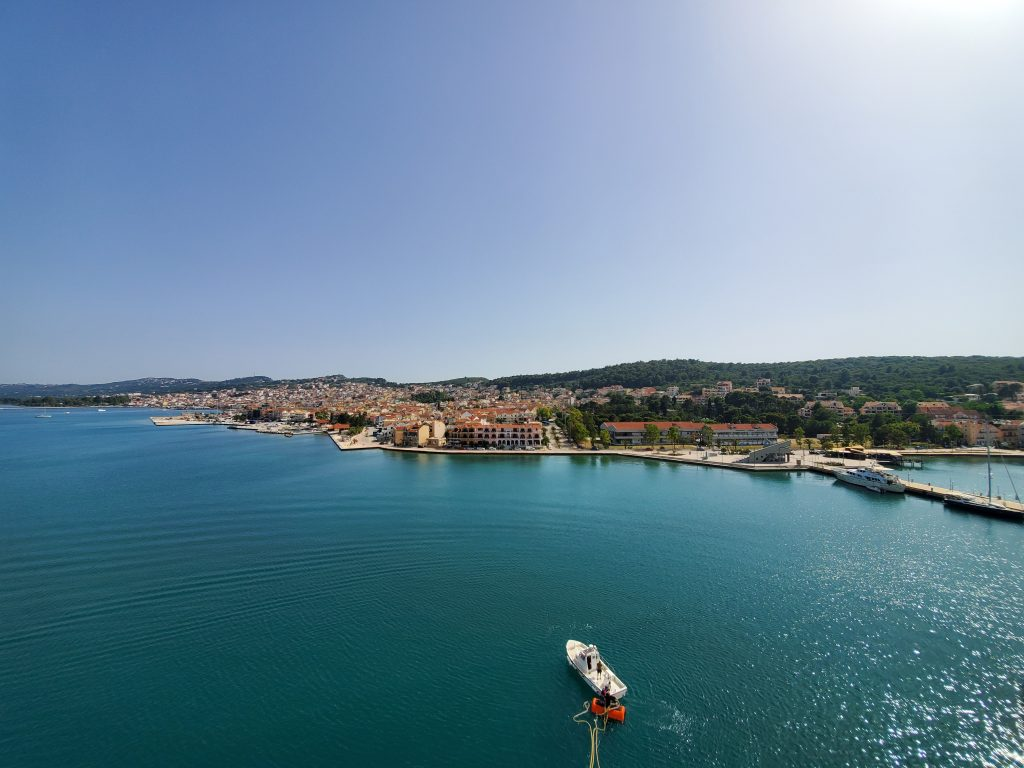 Kefalonia Greece port