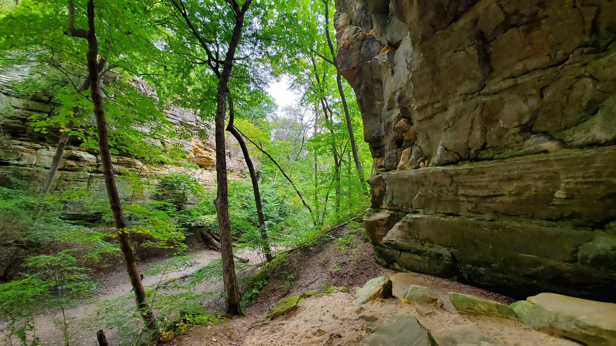 Ottawa Canyon Starved Rock State Park Illinois