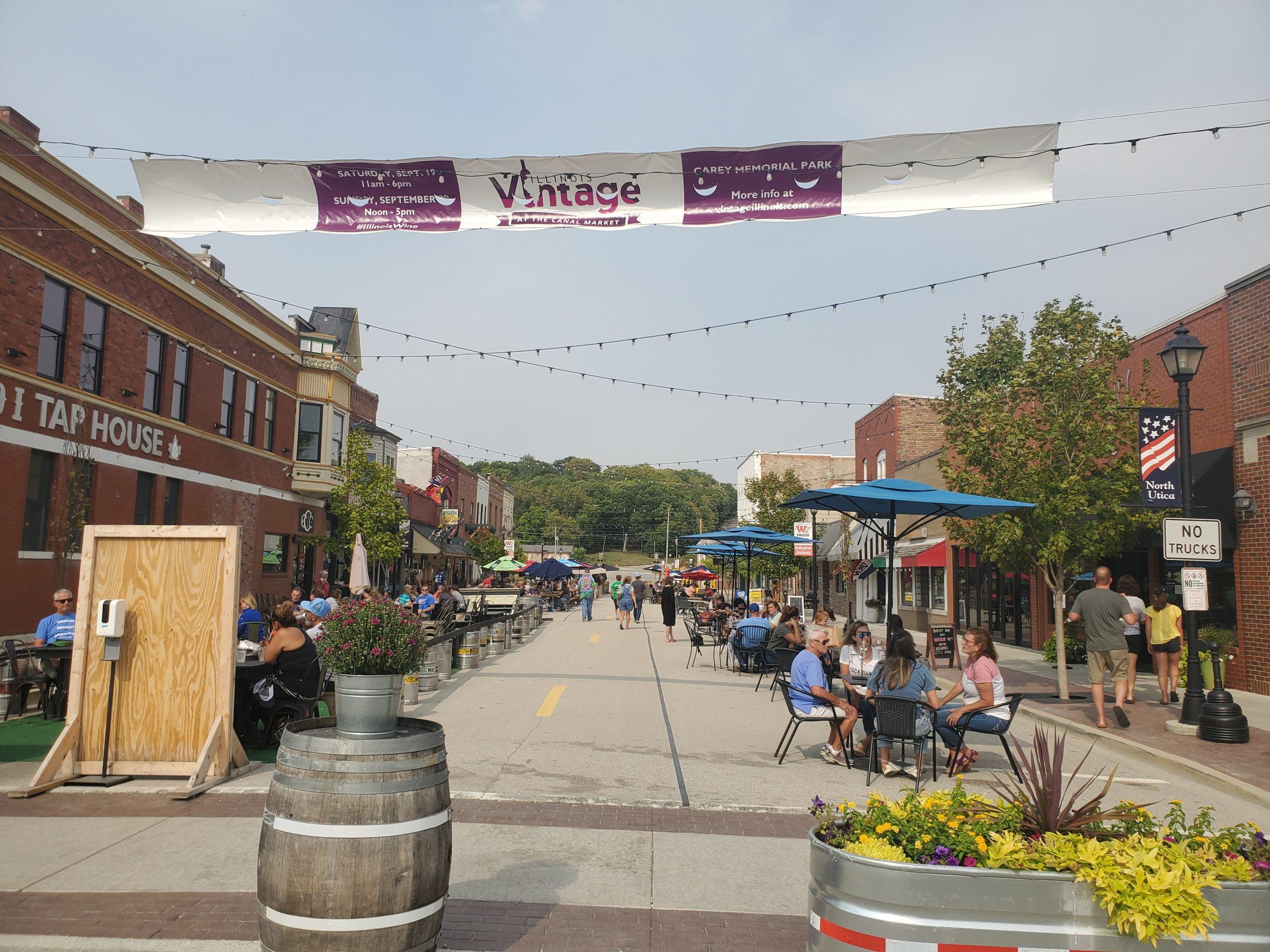 Downtown Utica Illinois
