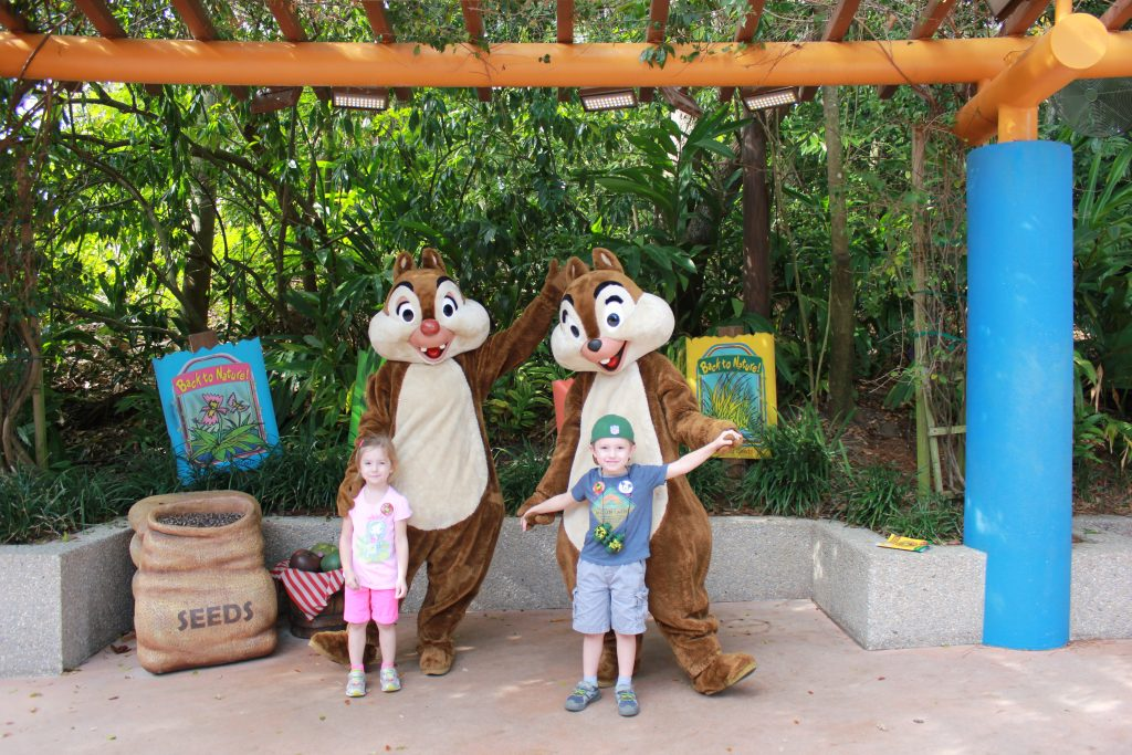 Cernys Journeys - Cora & Jamen with Chip & Dale