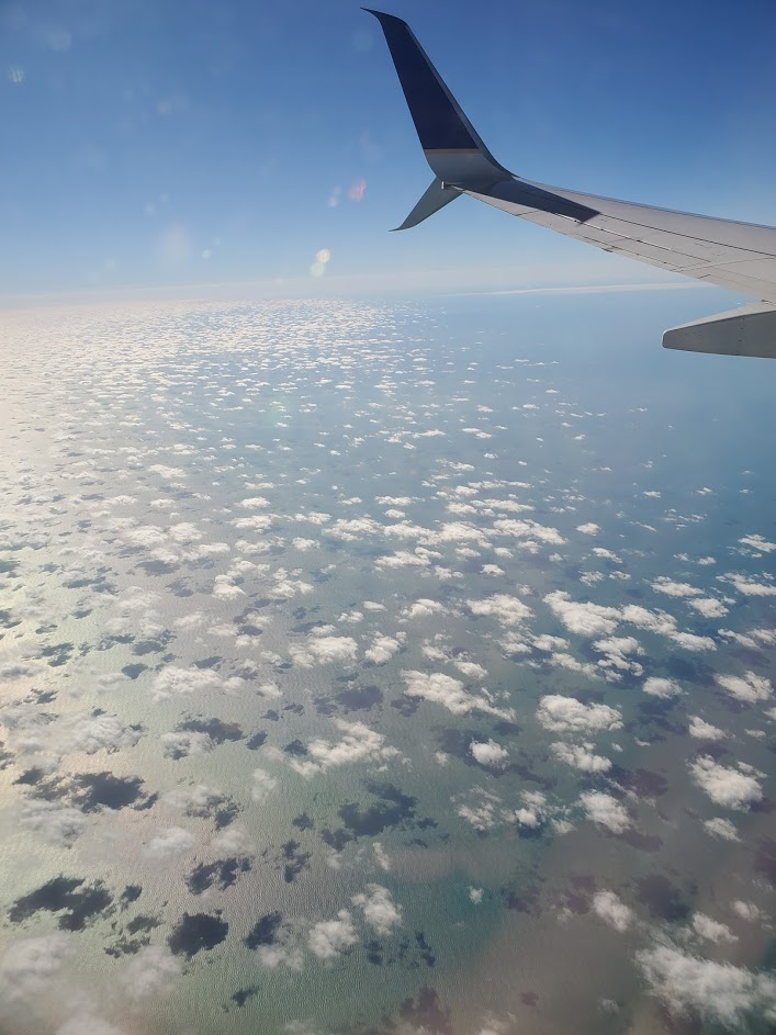 Cernys Journeys - View from the Plane
