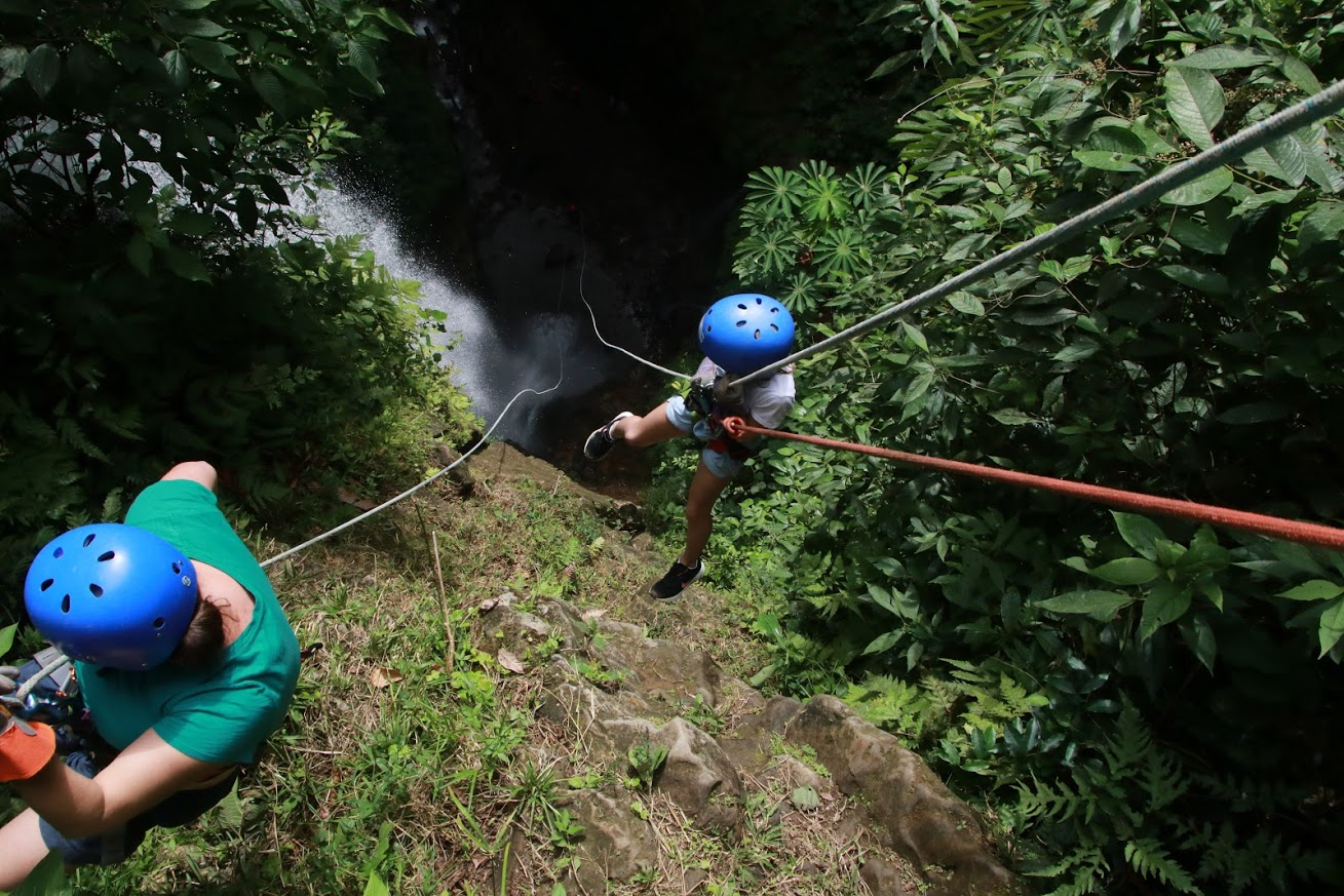 Consolation Services - Costa Rica Waterfall Rappelling - Cernys Journeys