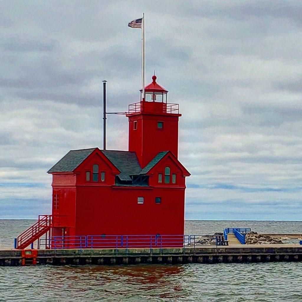 Cernys Journeys: Big Red Lighthouse Holland MI